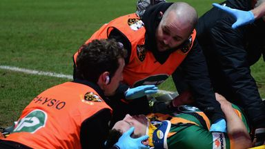 George North has raised the profile of concussion in recent times after sustaining four head injuries in less than five months