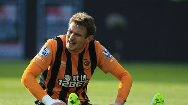Nikica Jelavic: Has suffered a niggling knee injury over the last two months