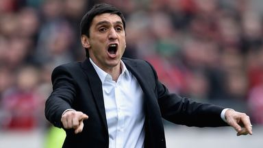 Hannover 96 have sacked manager Tayfun Korkut