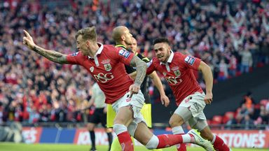 Bristol City won the Johnstone's Paint Trophy last season