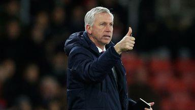 Alan Pardew: Felt Crystal Palace deserved better