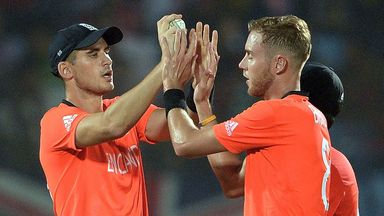 Alex Hales and Stuart Broad: Both players could feature for England against Bangladesh