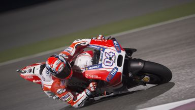 Andrea Dovizioso helped Ducati fill three of the top five positions on the grid for Sunday's race