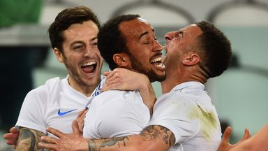 Andros Townsend: Scored England