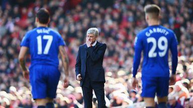 Arsene Wenger: Happy with Arsenal's response