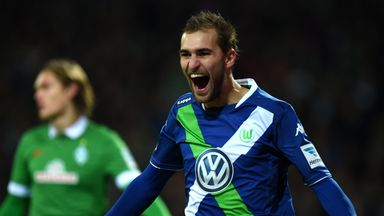 Bas Dost: Once again on form for Wolfsburg