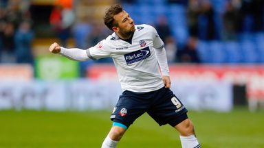Adam Le Fondre was on target for Bolton