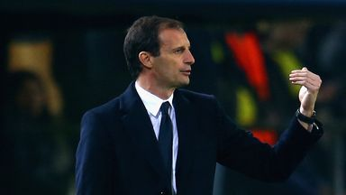Massimiliano Allegri - superb first season in charge