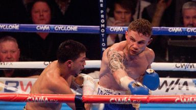 Carl Frampton: Finished Chris Avalos in five rounds