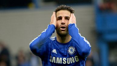 Cesc Fabregas: Set to play for Chelsea at Arsenal on Sunday