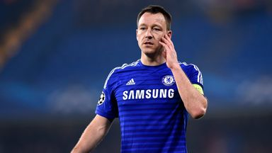 John Terry: European defeat tough to take.