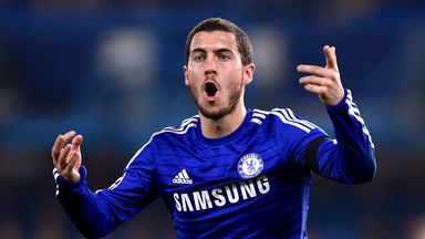 Eden Hazard: Has edge over Ronaldo, according to Mourinho