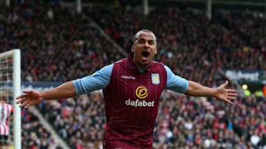 Gabby Agbonlahor: Formed effective partnership with Christian Benteke