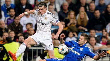 Gareth Bale in action for Real Madrid against Schalke