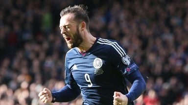 Steven Fletcher: Scotland striker quadrupled his international goal tally with a hat-trick against Gibraltar