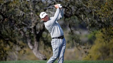 Graeme McDowell: Suffered the problem during Wednesday's Pro-Am.