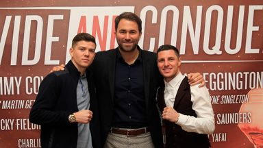 Luke Campbell and Tommy Coyle: Set to fight in the summer (photo by Lawrence Lustig)
