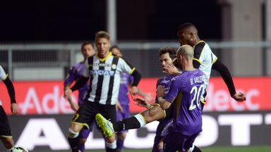 Molla Wague opens the scoring for Udinese