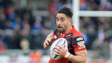 Rangi Chase has been suspended by Salford Red Devils