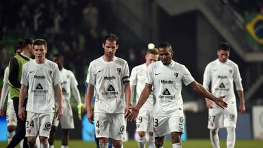 Metz were held at Caen on Saturday