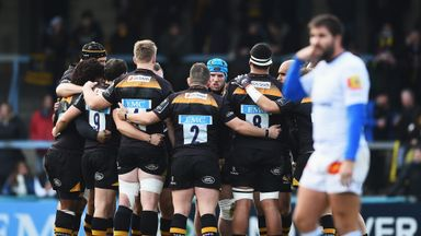 While Castres fight for survival in the Top 14, Wasps may no longer have to worry about relegation in the Premiership