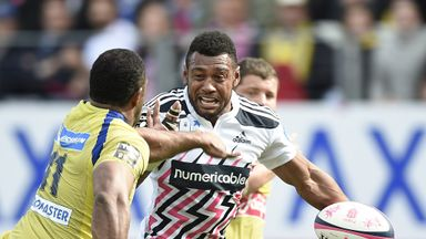 Waisea Nayacalevu: Scored Stade's first try in the win over Clermont