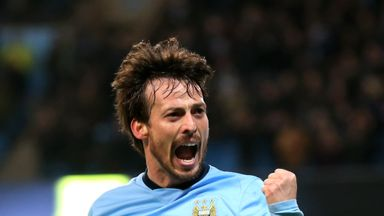 David Silva all set for new season with Manchester City