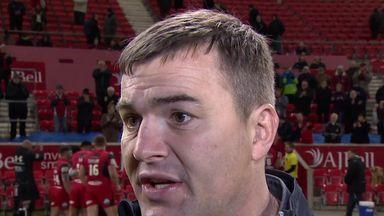 Salford Red Devils coach Iestyn Harris has left the club