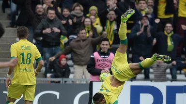 Yacine Bammou celebrates his goal