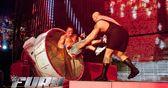 WWE Fury - Superstars smashed through stuff