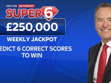 Super 6: Land £250k for six correct scores