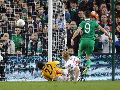 Shane Long netted the crucial equaliser against Poland