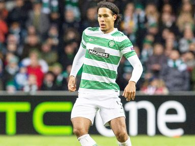 Virgil van Dijk: Will be happy to see Celtic claim the league title