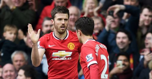 Michael Carrick: Welcomes new arrivals at Manchester United