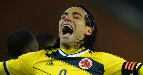 Radamel Falcao: Confidence lifted by goals for Colombia