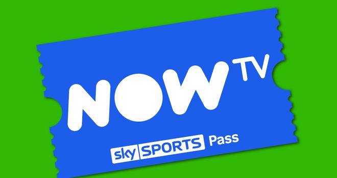 NOW TV Ticket Green