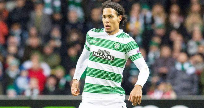 Virgil van Dijk: Celtic defender scored a fine second goal