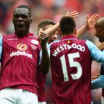 Christian Benteke joins a host of Villa players in the team