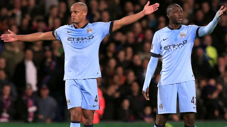 Manchester City lost 2-1 to Palace on Monday Night Football