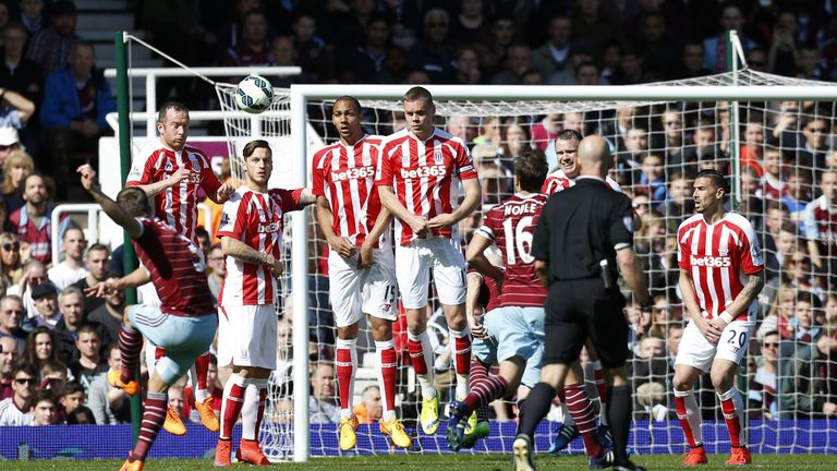 Cresswell's sumptuous free-kick opened the scoring against Stoke last weekend