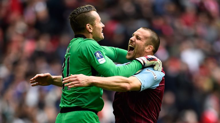 Vlaar (right) helped Aston Villa to an FA Cup final last season despite an injury hit campaign