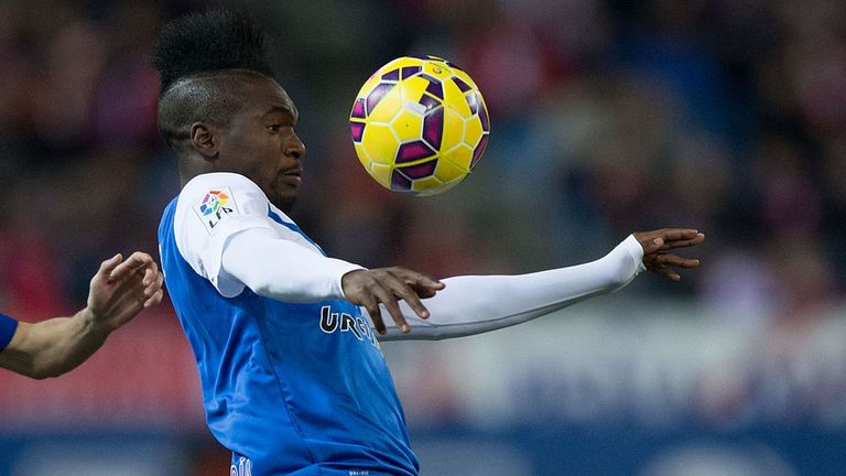 Thievy Bifouma: On target for Almeria