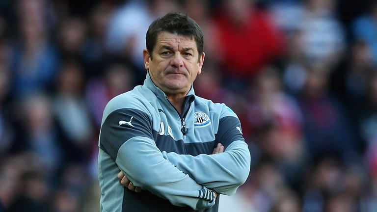 John Carver: Only two wins in 18 games for Newcastle coach