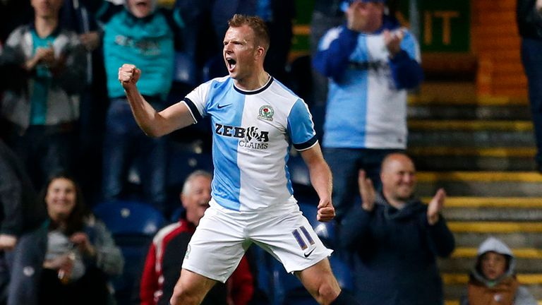 Blackburn's Jordan Rhodes is being linked with a move away.