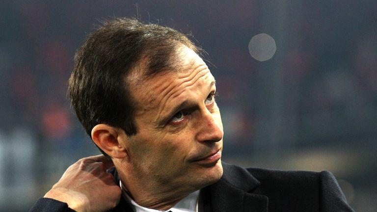 Massimiliano Allegri led Juventus to the double last season
