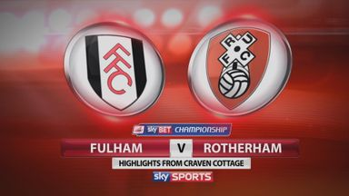 Fulham 1-1 Rotherham