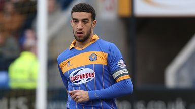 Connor Goldson: Shrewsbury defender in League Two team of the year