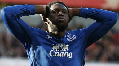 Romelu Lukaku: Is only a 50 per cent chance of playing against Swansea