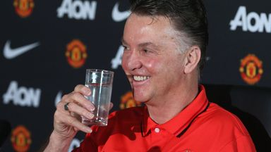 Louis van Gaal: Impressed by devotion of English supporters