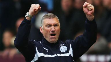 Nigel Pearson was sacked by Leicester last summer despite keeping them up